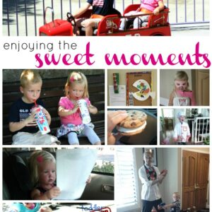Enjoying the Sweet Moments {Kid's Co-op}