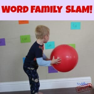 Word Family and Color Slam – Back to School Basics