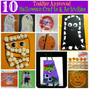 10 Toddler Approved Halloween Crafts and Activities