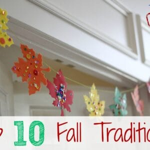 Top 10 Fall Traditions {Kid's Co-op}