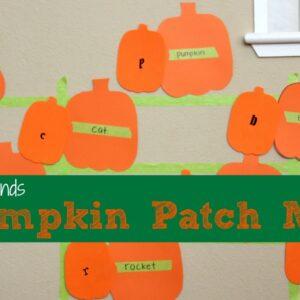 Beginning Sounds Pumpkin Patch Match