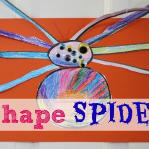 Shape Spiders- Back to School Basics