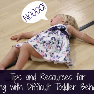 Tips and Resources for Dealing with Difficult Toddler Behaviors