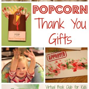 Popcorn Thank You Gifts {Tomie dePaola Virtual Book Club Blog Hop}