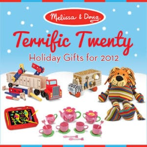CLOSED- Melissa and Doug Terrific Twenty List and Giveaway