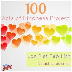 100 Acts of Kindness Project 2013