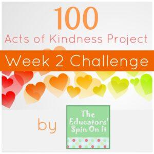 Kindness Challenge Week 2 & Usborne Books Giveaway