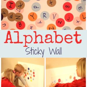 Alphabet Sticky Wall