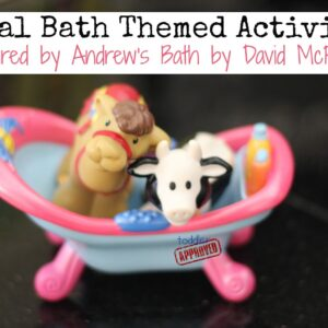 Simple David McPhail Inspired Activities {Virtual Book Club for Kids Blog Hop}