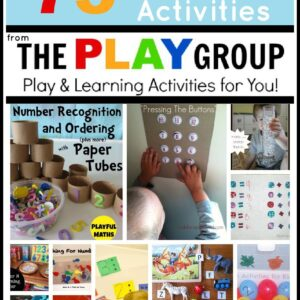 75+ Math Activities from The PLAY Group