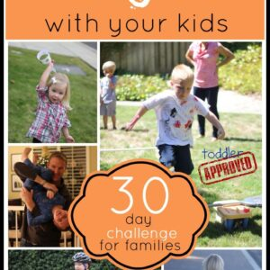 Move and Groove with Your Kids {A 30 Day Challenge}
