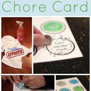 Scratch Off Chore Card {Cleaning with Kids}