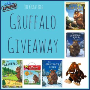 The Great Big Gruffalo Giveaway-CLOSED
