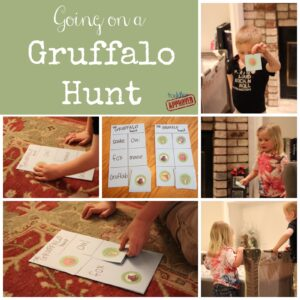 The Gruffalo {Julia Donaldson Virtual Book Club for Kids Blog Hop}