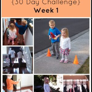 Literally Moving… and Grooving {30 Day Challenge Week 1 Check In}