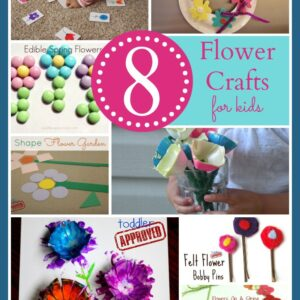 8 Spring Flower Crafts & Activities for Kids