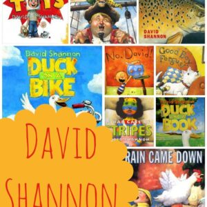 April Virtual Book Club for Kids- David Shannon