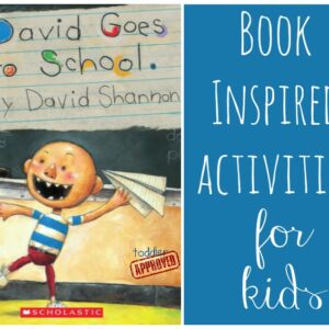 David Goes to School Activities {David Shannon Virtual Book Club for Kids Blog Hop}