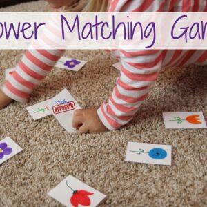Flower Matching Game