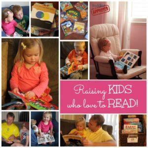 Raising Kids Who Love to Read & Usborne eShow & Giveaway
