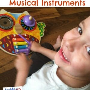Toddler Approved Musical Instruments: ALEX Musical Owl Review