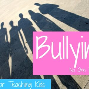 Bullying- No One is Immune {Say No to Bullying Pledge & Giveaway}
