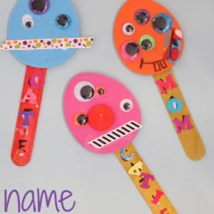 Name Monster Puppets