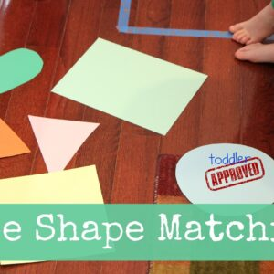 Tape Shape Matching Game