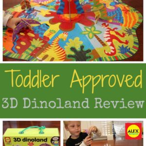 ALEX 3D Dinoland Review and 8 Ways to Learn & Play with Volcanoes
