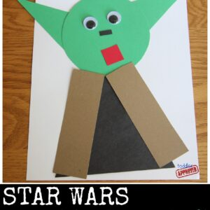 Star Wars Yoda Shape Craft