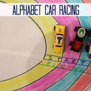 Alphabet Car Racing