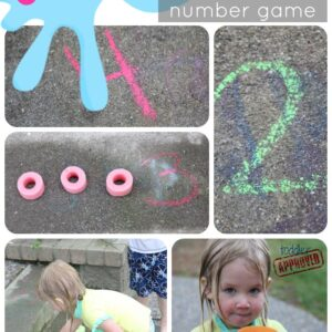 Splat! A Disappearing Number Game for Kids