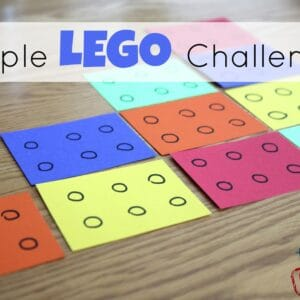 Simple Lego Challenges for Kids