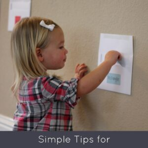 Simple Tips for Helping Toddlers Play Independently
