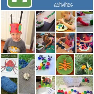 14 Book Inspired Bug Week Activities & 2 Awesome Giveaways