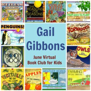 June Virtual Book Club for Kids- Gail Gibbons