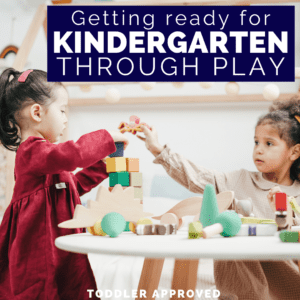 Get Ready for Kindergarten Through Play Series