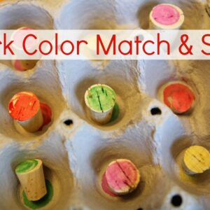 Cork Color Match and Sort
