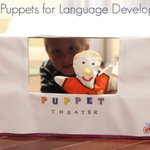 Using Puppets for Language Development {Get Ready for K Through Play}