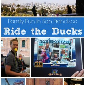 Family Fun in San Francisco- Ride the Ducks