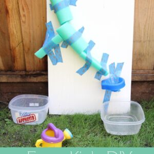 Easy DIY Water Wall for Kids {Backyard Science}