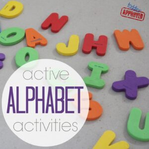 Active Alphabet Activities {Get Ready for K Through Play}