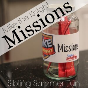Sibling Summer Fun: Mike the Knight Missions