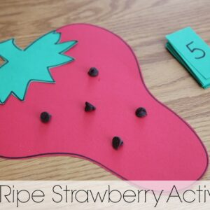Red Ripe Strawberry Activities {Virtual Book Club Summer Camp}