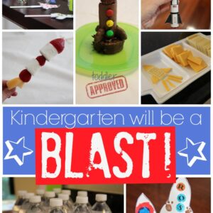 Kindergarten Will Be a Blast Rocket Party!