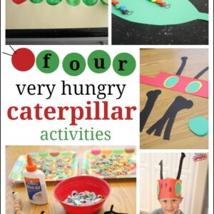 4 Very Hungry Caterpillar Activities