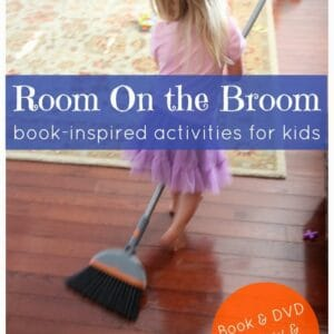 Room on the Broom Book-inspired Activities {Plus Review & Giveaway}