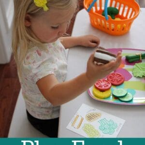 Play Food Matching Game {Learning Resources Review & Giveaway}