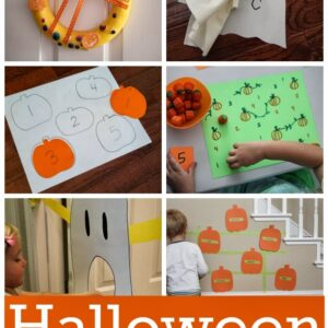 H is for Halloween Learning Activities!
