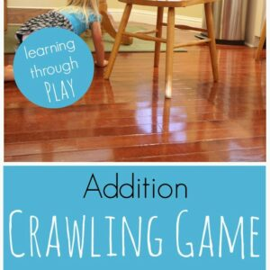 Addition Crawling Game for Kids